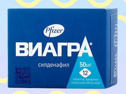 Виагра - препарат для лечения импотенции