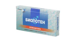 Препарат для потенции у мужчин - биопотен