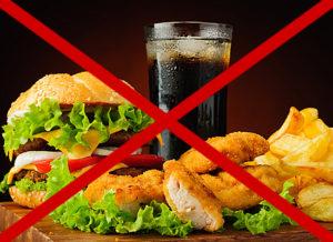fast food, фастфуд, влияние на эрекцию