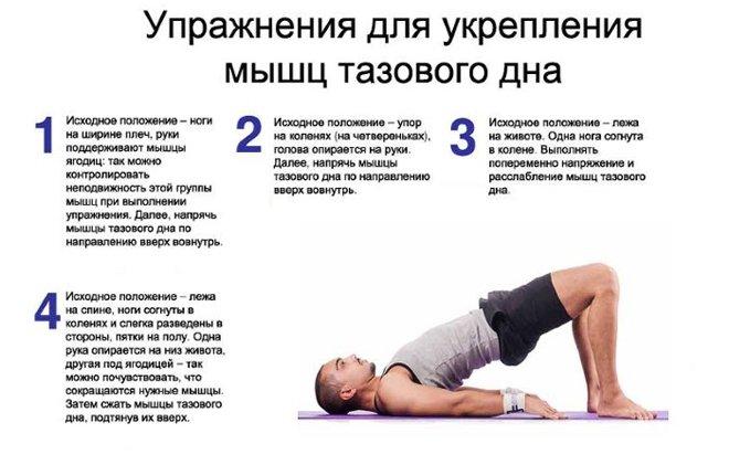 Упражнения для тренировки мышц таза, мышцы Кегеля