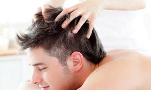 Массаж головы для волос
