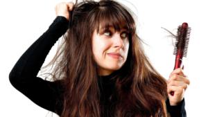 Женщина, выпадение волос
