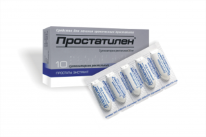Эффективные свечи от простатита для мужчин - Простатилен