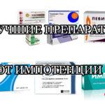 Лучшие эффективные препараты и средства от импотенции