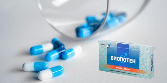 Биопотен возбуждающие таблетки для мужчин