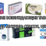 Возбуждающие таблетки для мужчин, которые можно купить в аптеке - список лучших с ценами
